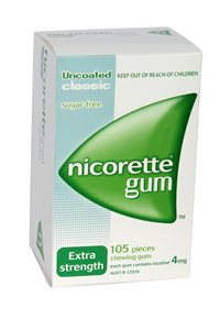 Nicorette 4mg x 6 packs